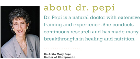 About Dr Pepi