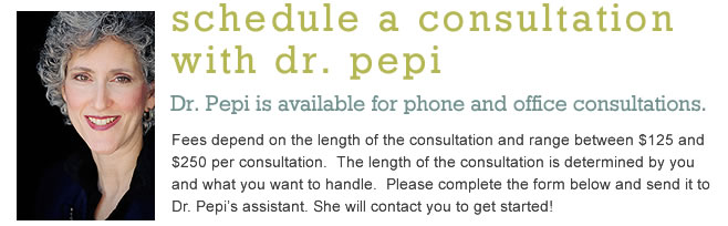 Schedule a Consultation with Dr. Pepi