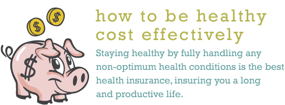 How to Be Healthy Cost Effectively