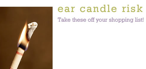 Ear Candle Risk