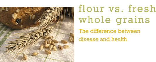 Flour vs. Fresh Whole Grains