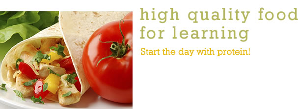 Learning, High Quality Food For
