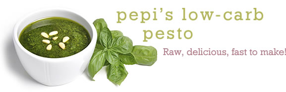 Pepi's Low-Carb Pesto