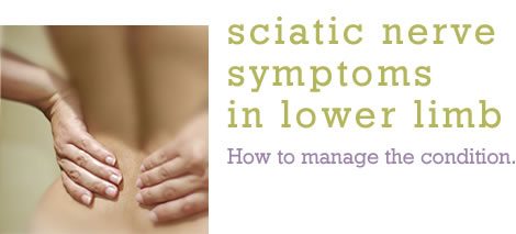Sciatic Nerve Symptoms in Lower Limb