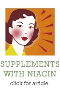 Supplements with Niacin